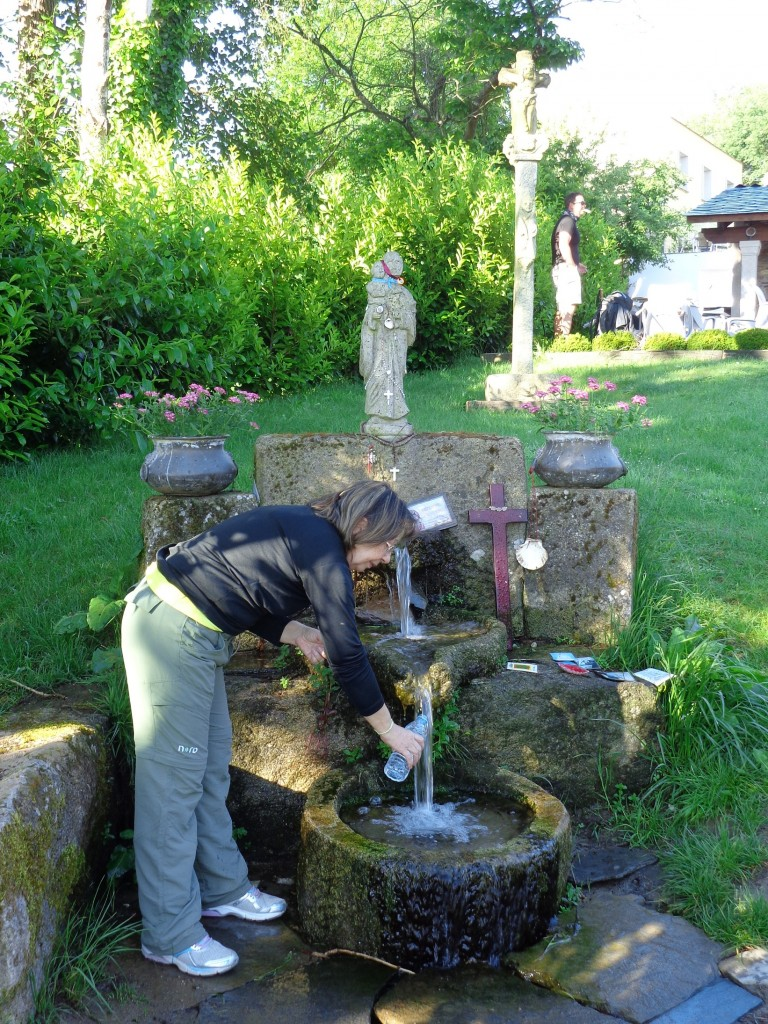 bica de água Santiago de Compostela
