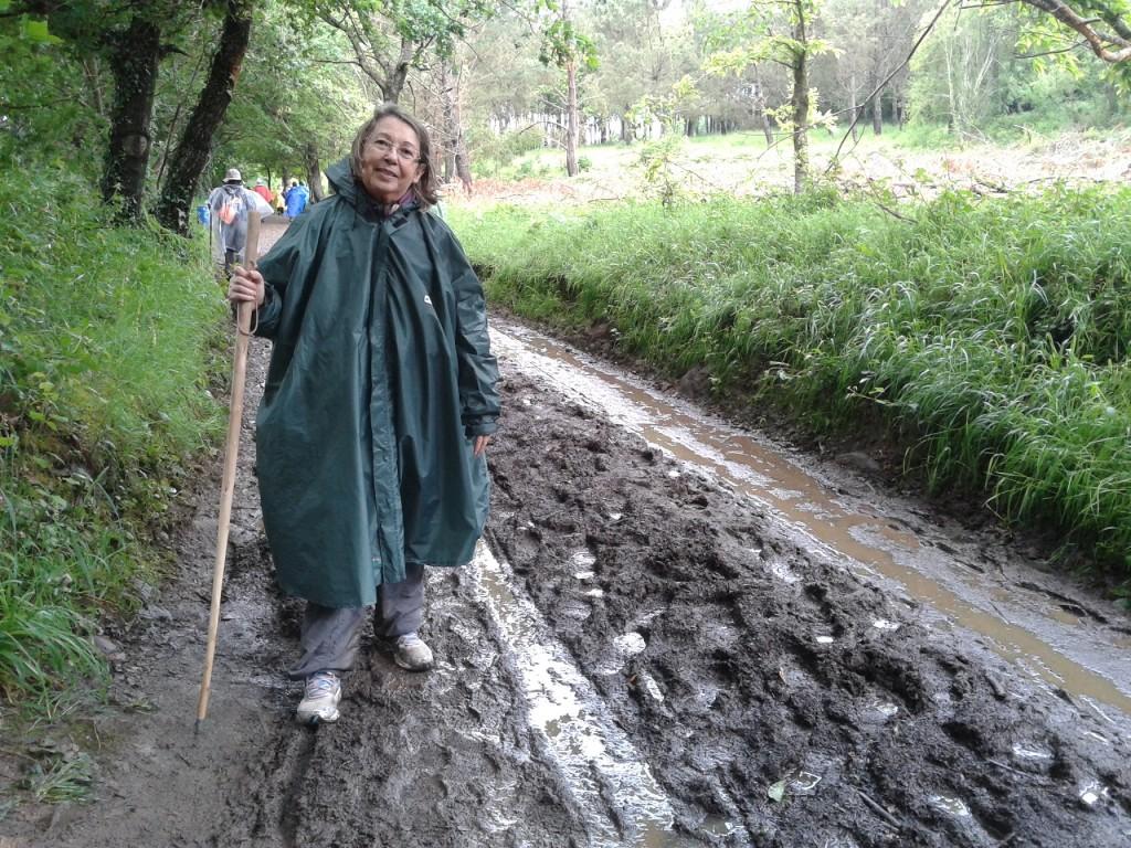 Clima Caminho de Santiago: chuva